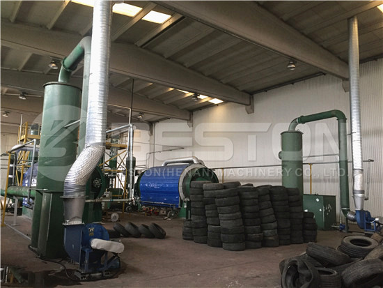 Tyre Pyrolysis Plant in Turkey