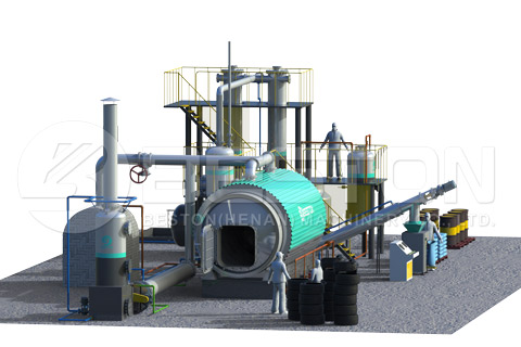 Waste Plastic to Oil Plant Cost