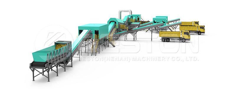 Waste Sorting Plant Design
