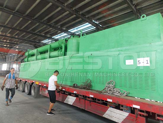 Beston Continuous Pyrolysis Plant to Romania