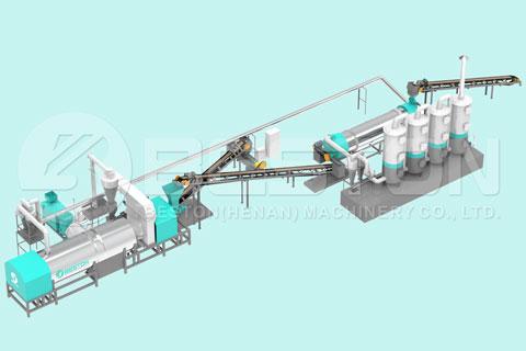 Beston Biomass Pyrolysis Plant for Sale