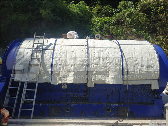 Rubber Pyrolysis Machine in Korea