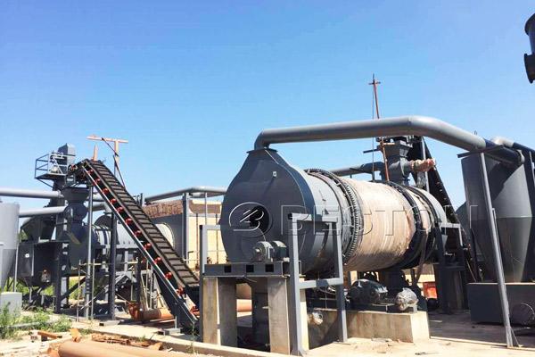 Beston Biomass Carbonization Plant for Sale