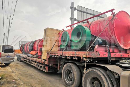 Shipment of Charcoal Making Machine