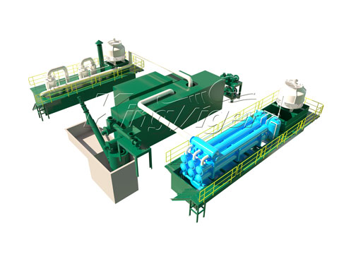 tyres recycling plant