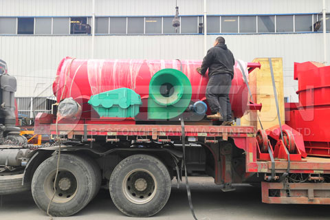 Shipment of Bamboo Charcoal Making Machine