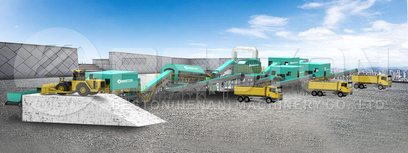 Beston Waste Separation Machine