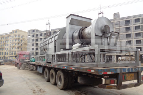 Shipment of Carbonizing Machine - Beston Machinery
