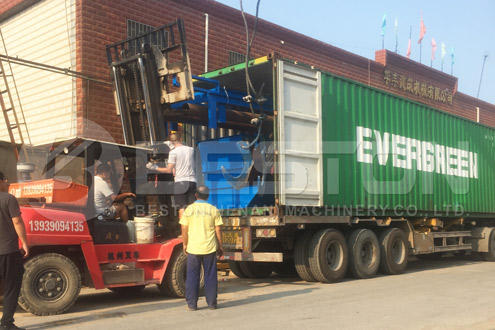 Shipment of Solid Waste Management Plant - Beston Machinery