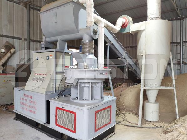 Rice Husk Pellet Making Machine
